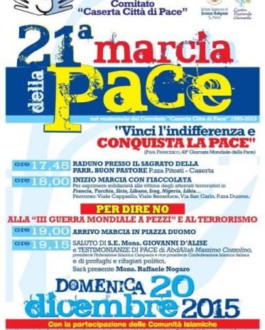 21esima marcia della pace