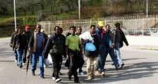 protesta dei migranti